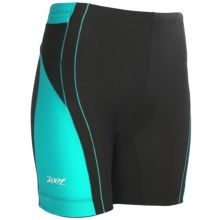 "Zoot Sports High-Performance Tri Shorts - UPF 50+, 6"" (For Women) in Black/Aruba - Closeouts"