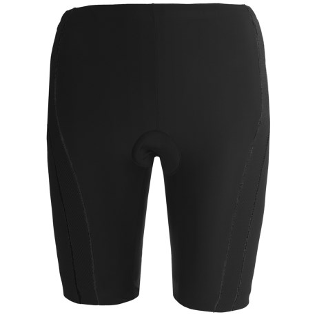 Zoot Sports High-Performance Tri Shorts - UPF 50+ (For Women) in Black