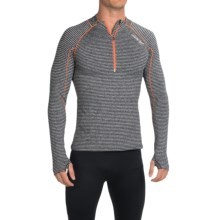 Zoot Sports Liquid Core Pullover - Zip Neck, Long Sleeve (For Men) in Black - Closeouts