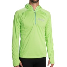 Zoot Sports Microlite Hoodie - UPF 50+, Zip Neck (For Men) in Green Flash Heather - Closeouts