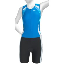 Zoot Sports Performance Hydro Tri Race Suit - UPF 50+ (For Women) in Oceanus/Oceanus/Print - Closeouts