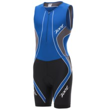 Zoot Sports Performance Tri Race Suit - UPF 50+, Zip Neck (For Men) in Zoot Blue/Graphite - Closeouts
