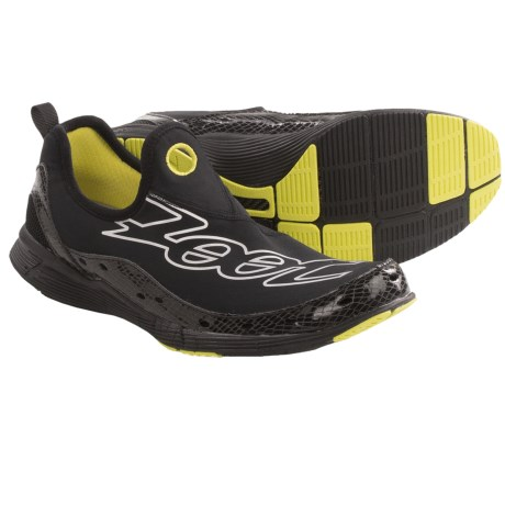 Zoot Sports Swift FS Running Shoes (For Men) in Black/Volt