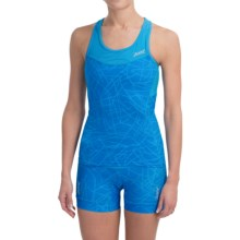 Zoot Sports Tri Cycling Tank Top - Racerback (For Women) in Maliblue Static - Closeouts