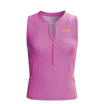 Zoot Sports Trifit Tank Top - Stretch (For Women) in Light Berry - Closeouts