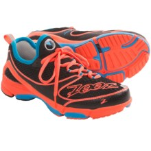 Zoot Sports TT Trainer Running Shoes (For Women) in Black/Hot Coral/Atomic Blue - Closeouts