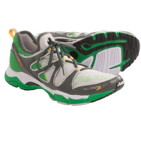 Zoot Sports Ultra Kane 3.0 Running Shoes (For Men) in Light Grey/Graphite/Green Lantern
