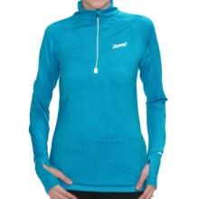Zoot Sports Ultra MEGAheat Pullover Shirt - UPF 50+, Zip Neck (For Women) in Splash - Closeouts