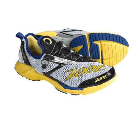 Zoot Sports Ultra Ovwa Running Shoes (For Men) in White/Classic Blue/Pure Yellow - Closeouts