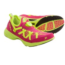 Zoot Sports Ultra Race 4.0 Tri Running Shoes (For Women) in Beet/Safety Yellow - Closeouts
