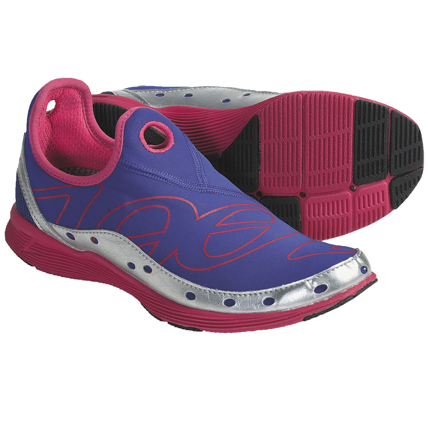 Zoot Sports Ultra Speed Tri Running Shoes (For Women) in Indigo/Silver