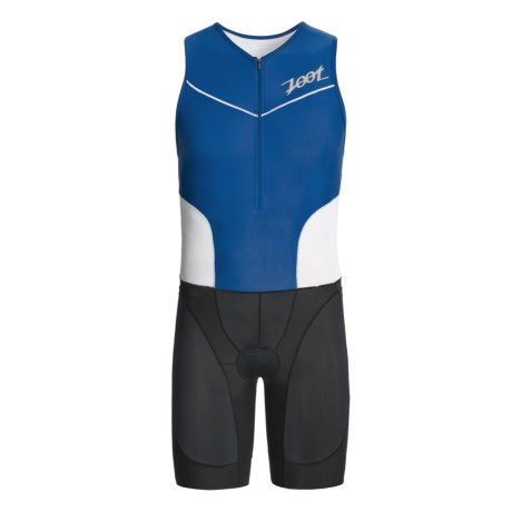 Zoot Sports Ultra Tri Race Suit (For Men) in Classic Blue/White