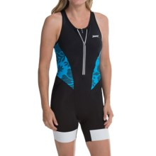 Zoot Sports Ultra Tri Race Suit - UPF 30, Sleeveless (For Women) in Maliblue Island - Closeouts