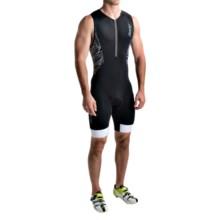 Zoot Sports Ultra Tri Racesuit (For Men) in Black/Black - Closeouts