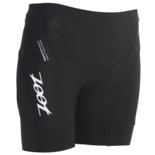 "Zoot Sports Ultra Tri Shorts - UPF 50+, 6"" (For Women) in Black - Closeouts"