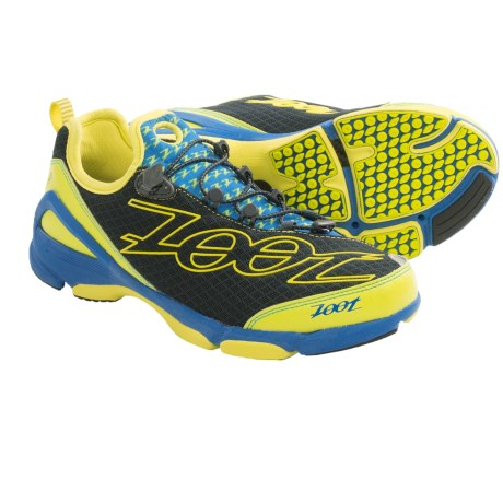 Zoot Sports Ultra TT 5.0 Running Shoes (For Men) in Grey/Zoot Blue/Volt