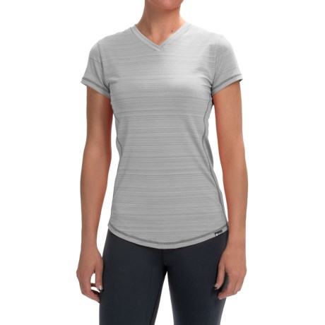 Zuala Energy T Shirt V Neck, Short Sleeve (For Women)