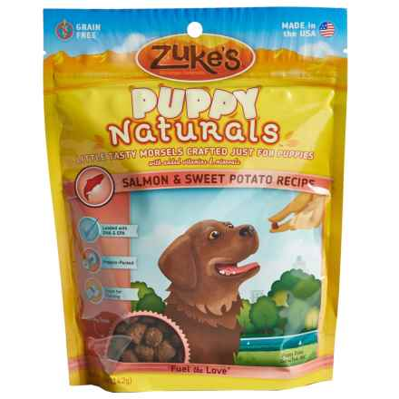 Zuke's Puppy Naturals Grain-Free Dog Treats - 5 oz., Salmon and Sweet Potato in Salmon/Sweet Potato - Closeouts