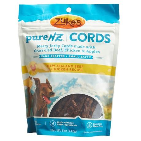 ZUKE'S PURENZ CORDS BEEF & CHICKEN RECIPE DOG TREATS - 5 OZ in Beef W/Chicken