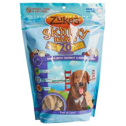 Zukes Skinny Bakes Dog Treats - 10 oz. in Coconut/Aronia Berry - Closeouts