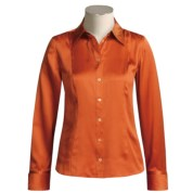Starington Silk Blouse - Long Sleeve (For Women)