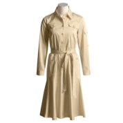 Collectible by Starington Half-Button Dress - Long Sleeve (For Women)
